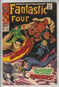 Fantastic Four #63 (Jun-67) VG/FN Mid-Grade Fantastic Four, Mr. Fantastic (Re...