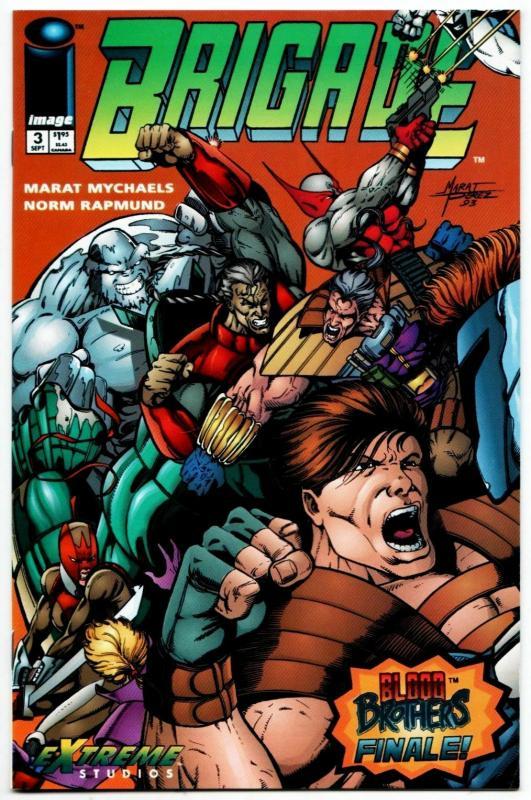 Brigade #3 (Image, 1993) VF