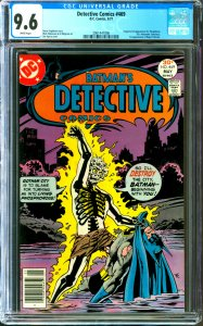 Detective Comics #469 CGC Graded 9.6 1st appearance of Dr. Phosphorus