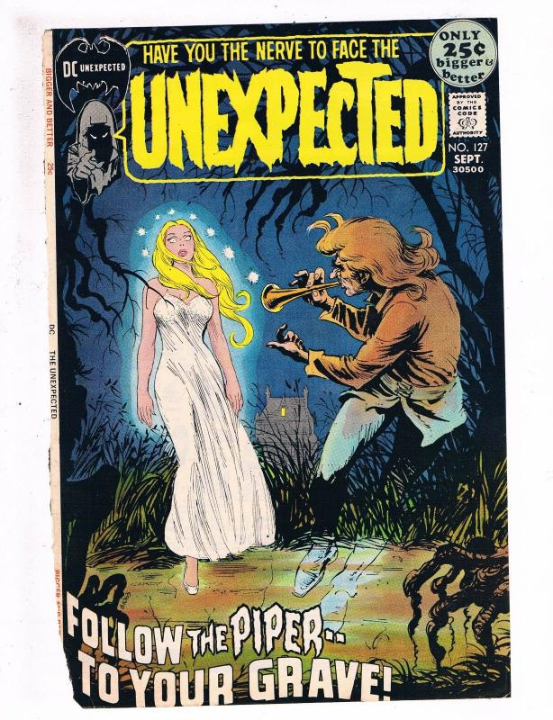 Unexpected # 127 FRONT COVER ONLY Great For Framing DC Comic Book ...