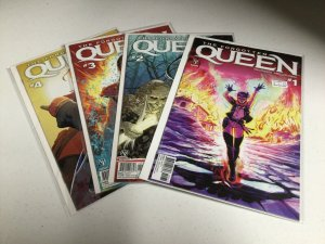 The Forgotten Queen 1-4 Nm Near Mint Valiant Comics