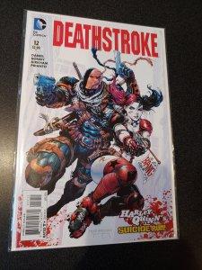 DEATHSTROKE #12, VF/NM, Harley Quinn