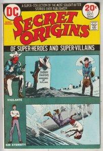 Secret Origins #4 (Oct-73) NM- High-Grade Vigilante, Kid Eternity