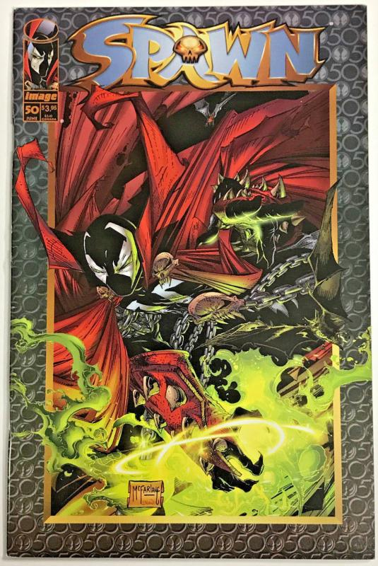 SPAWN#50 VF/NM 1996 TODD MCFARLANE IMAGE COMICS