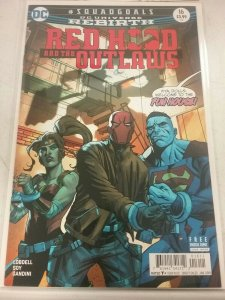 RED HOOD AND THE OUTLAWS #16 DC UNIVERSE REBIRTH NW26