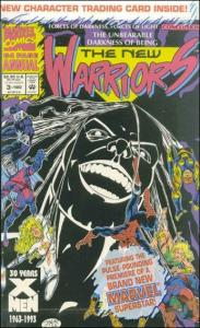 Marvel THE NEW WARRIORS (1990 Series) Annual #3 VF/NM Unbagged