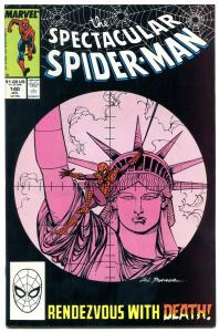 Spectacular Spider-Man #140 1988- Punisher issue NM