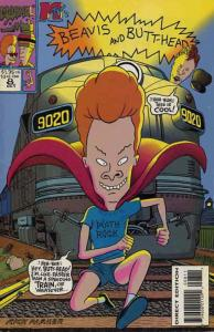 Beavis & Butt-Head #8 VF/NM; Marvel | save on shipping - details inside