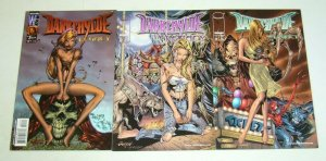 Darkchylde: the Legacy #1-3 VF/NM complete series - all randy queen variants set
