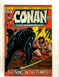 Conan The Barbarian # 18 VF Marvel Comic Book Elric Red Sonja Kull King RS2