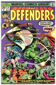 DEFENDERS #29, FN, Guardians of the Galaxy, Hulk, Dr Strange, 1972,more in store
