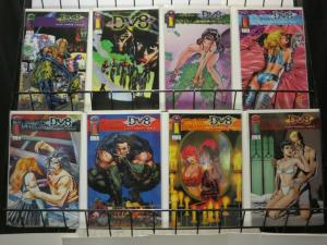 DV8 (1996 IM) 1A-1H  set of all 8 variants! COMICS BOOK