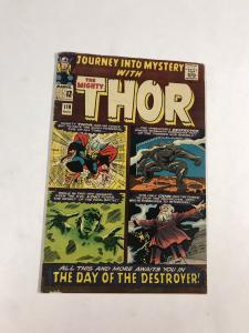 Journey Into Mystery 119 4.0 Vg Very Good Marvel Silver Age 1st Warriors Three 3