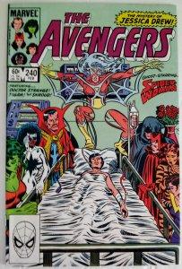 AVENGERS #240 SPIDER-WOMAN! Marvel Comics ID#MBX2