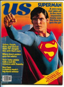 US 12/12/1978-Superman-Christopher Reeve-Charlies Angels-Capt Stickey-VF/NM
