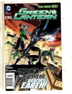 Lot Of 8 Green Lantern DC Comic Books # 12 13 14 15 16 17 18 19 Batman Flash MF3