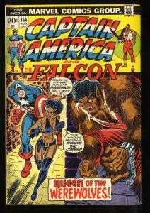 Captain America #164 FN 6.0 1st Nightshade!