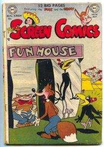 Real Screen Comics #38 1951- Fox & Crow VG-