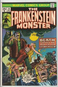 Frankenstein, the Monster of #10 (May-74) NM- High-Grade Frankenstein