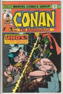 Conan the Barbarian #51 (Jun-75) VF+ High-Grade Conan the Barbarian