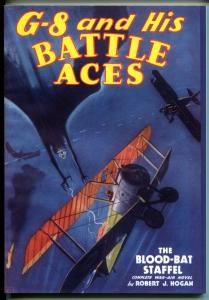 G-8 & His Battle Aces #28 1/1936-Adventure House reprint-2008-Hogan-pulp-VF/NM