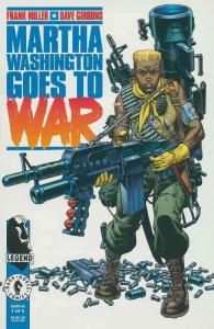 Martha Washington Goes to War #1 VF/NM; Dark Horse | save on shipping - details
