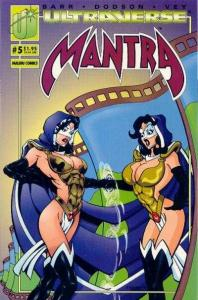 Mantra (1993 series) #5, VF+ (Stock photo)