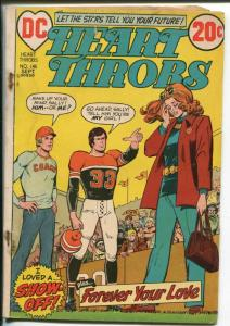 Heart Throb #145 1972-African-American characters-football cover-FR