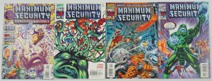 Maximum Security #1-3 VF/NM complete series + dangerous planet - avengers set