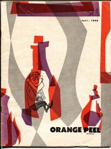 Orange Peel University of Florida College Humor Mag-1958-Comic book