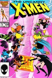 Uncanny X-Men (1981 series) #208, NM- (Stock photo)