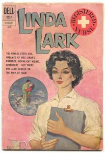 Linda Lark #4 1962-Dell comics-Registered Nurse G+
