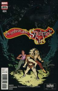 Unbeatable Squirrel Girl, The (2nd Series) #24 VF/NM; Marvel | save on shipping