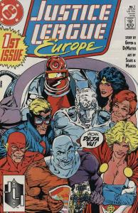 Justice League Europe #1 VF; DC | save on shipping - details inside