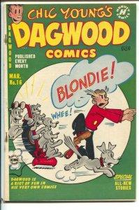 Dagwood #16 1952-Harvey-Chic Young-Blondie-Popeye-Grandma-Charles Kuhn-Little...