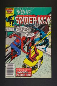 Web of Spider-Man #21 December 1986