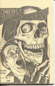 SKULL DUGGERY #3-1980-PULP MYSTERY & HORROR FANZINE-HAL CHARLES-LEWIS SHINER