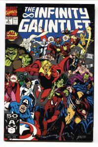 Infinity Gauntlet #3 INFINITY WAR  Thanos- Warlock- Marvel comic NM-