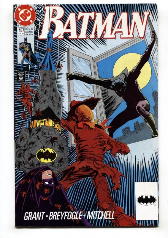 BATMAN #457-DC 1990-Comic Book-Robin NM-