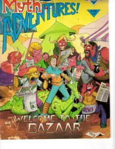 Myth Adventures # 5 VG/FN Warp Graphics Comic Book Magazine J292