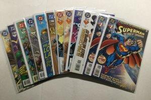 Superman The Man Of Tomorrow 1 2 3 4 5 6 7 8 9 10 11 Lot Near Mint Nm Dc Comics