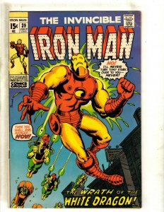 Iron Man # 39 FN/VF Marvel Comic Book Avengers Hulk Thor Captain America J462