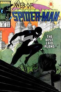 Web of Spider-Man (1985 series) #26, NM- (Stock photo)