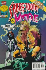 Mystique And Sabretooth #3 VF; Marvel | save on shipping - details inside