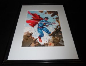 Superman 2015 DC New 52 Framed 11x14 Photo Poster