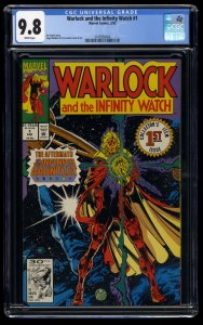 Warlock and the Infinity Watch #1 CGC NM/M 9.8 White Pages