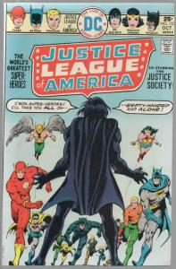 JUSTICE LEAGUE OF AMERICA 123 FN Oct. 1975