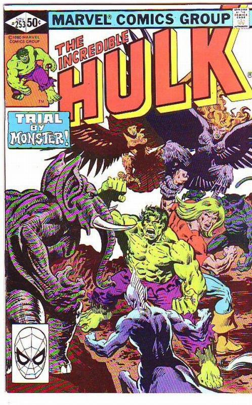 Incredible Hulk #253 (Nov-80) NM/NM- High-Grade Hulk