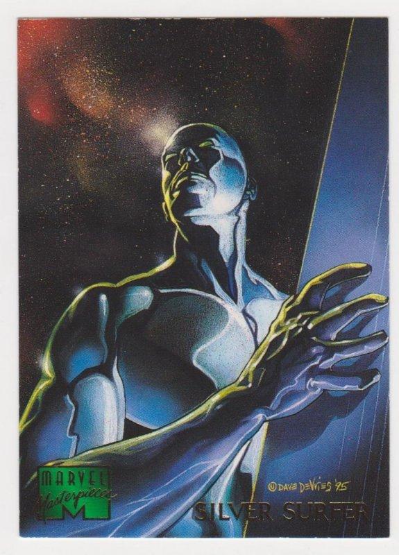 1995 Marvel Masterpieces #88 Silver Surfer