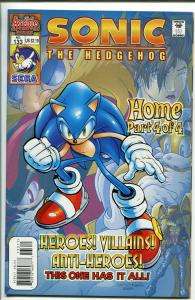 SONIC THE HEDGEHOG #133  2004-ARCHIE COMICS-SEGA-nm